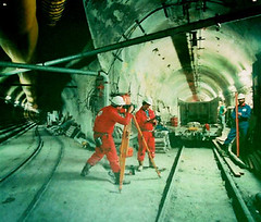 Chunnel being built | by rbitting
