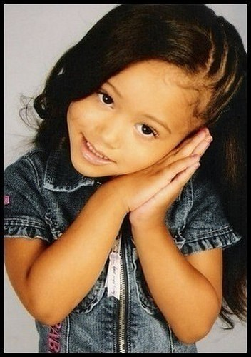 cute hair styles for mixed girls pretty pretty isnt she swan23145 1004 | 1261234484 087d5f8213