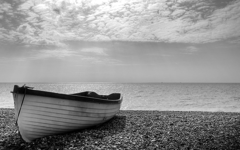 black and white boat | a bit of a cliche shot but it is my ...