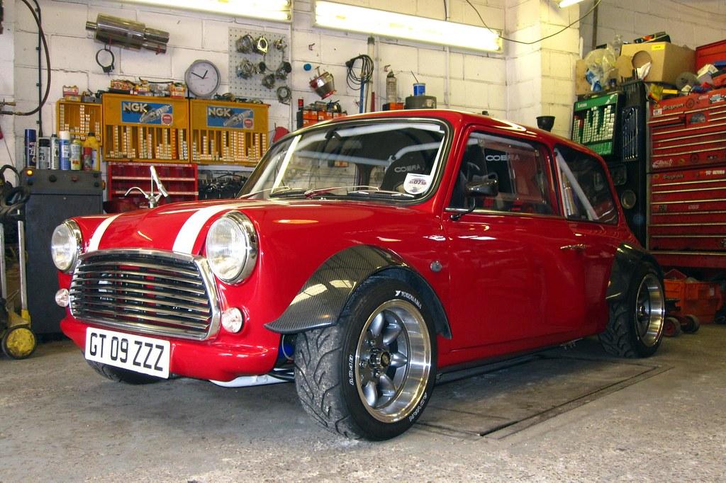 Classic Mini Cooper Rally Car For Sale