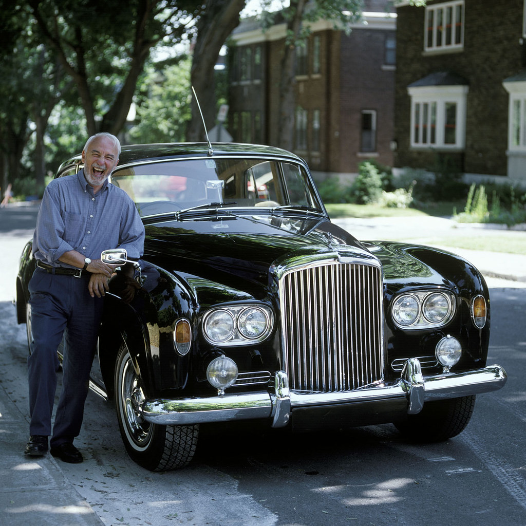 All White Rolls Royce >> Yvon rit Bentley copy | Yvon Deschamps contracted us to writ… | Flickr