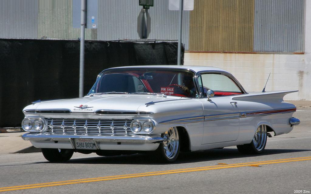 New Chevy Impala >> 1959 Chevrolet Impala Sport Coupe - white - fvl | Rex Gray | Flickr