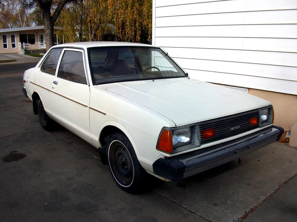 1981 Datsun 210 | Rear wheel drive Datsun 210. Got it home ...