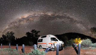Camping below the Milky Way | by Habub3