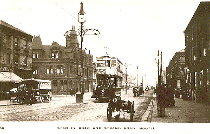 All Road Sign >> Stanley Road and Strand Road, Bootle, Nr Liverpool - c 191… | Flickr