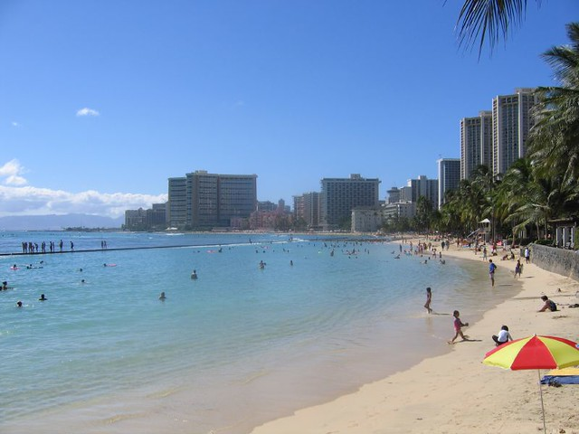Waikiki Beach Walk Honolulu And Waikiki Beach Emily D