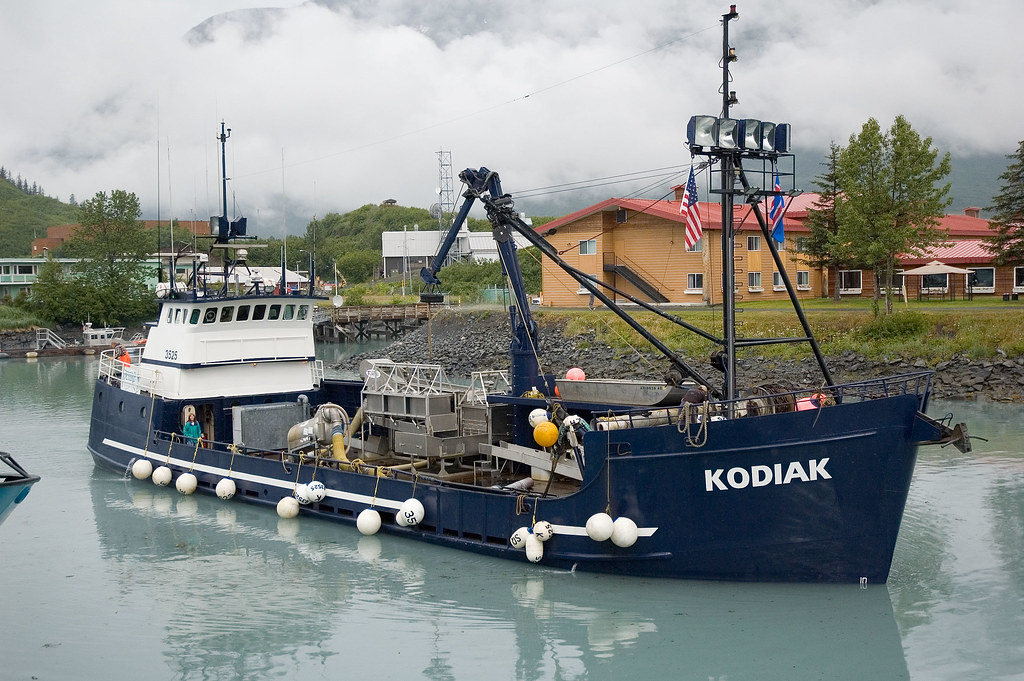 F v kodiak the kodiak was our home away from home for for Crab fishing boat