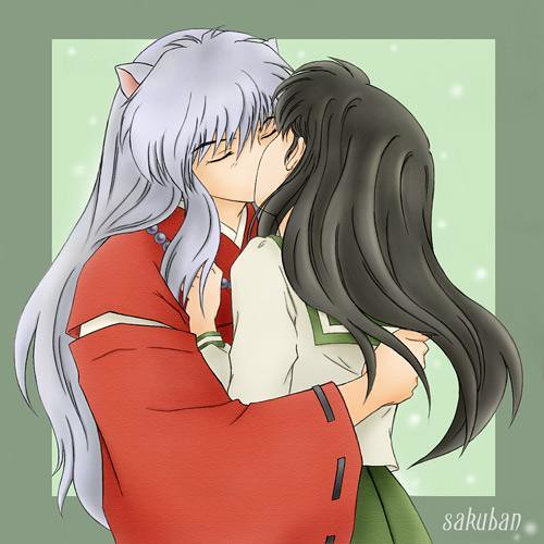 Inuyasha kiss kagome | Cherry.Vanilla2008 | Flickr