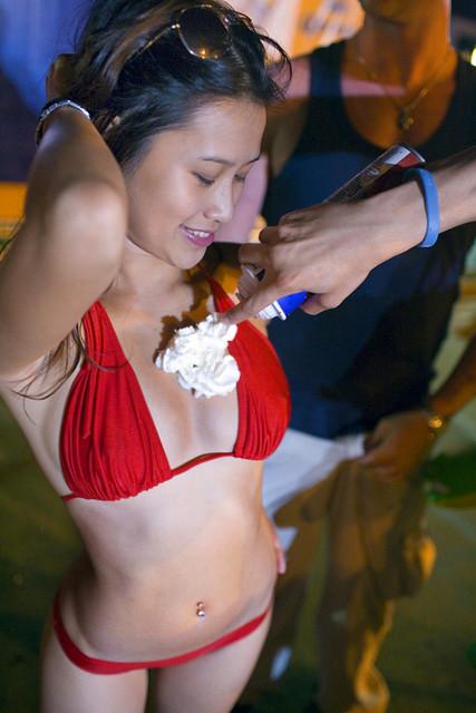 Asian girl whipped