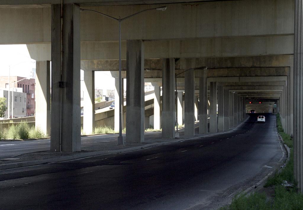 Bruckner Expressway I  Orchard Beach City Island Exit Shoulder