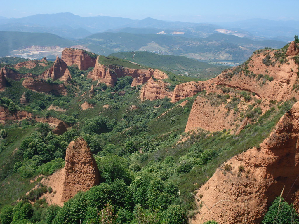 Las Medulas, Roman Gold Mines, Leon, Spain  Las Medulas is …  Flickr