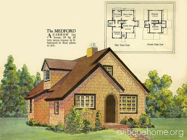 Radford House Plan English Cottage Style 1925 Radford