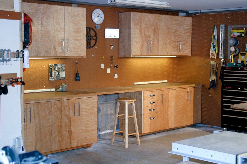 Garage Cabinets This Was My First Time Building Real