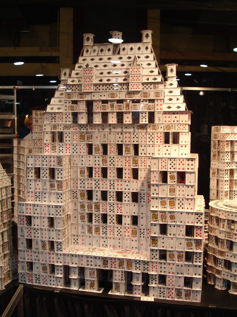 Image result for house of cards structures images