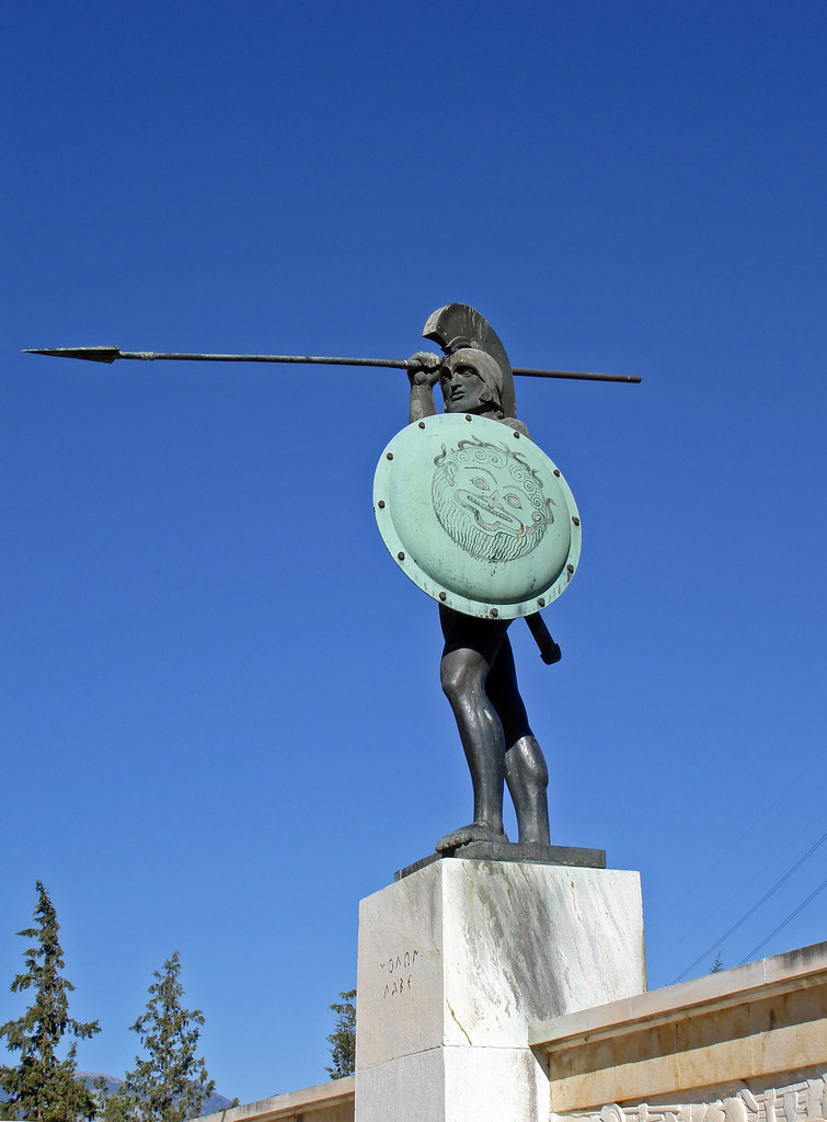 Thermopylae - Monument...