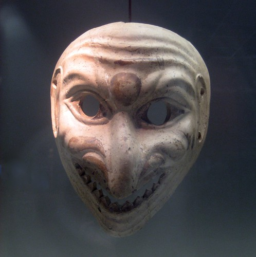 Roman Theater Mask Flickr Photo Sharing