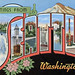 Greetings from Seattle, Washington - Large Letter Postcard