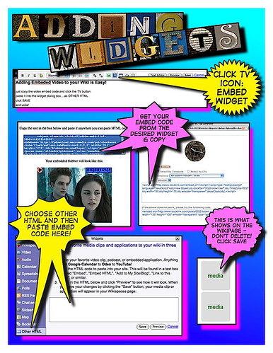 Adding widgets to Wikispaces | by The Daring Librarian
