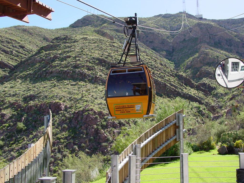 Wyler Aerial Tramway State Park El Paso Texas Wyler