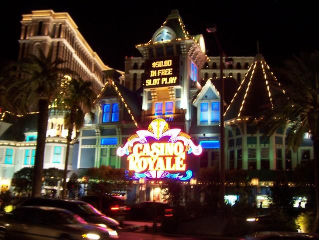 Casino royale vegas map