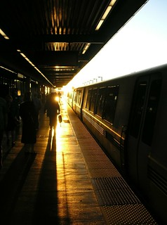 BART at sunset | by blmurch