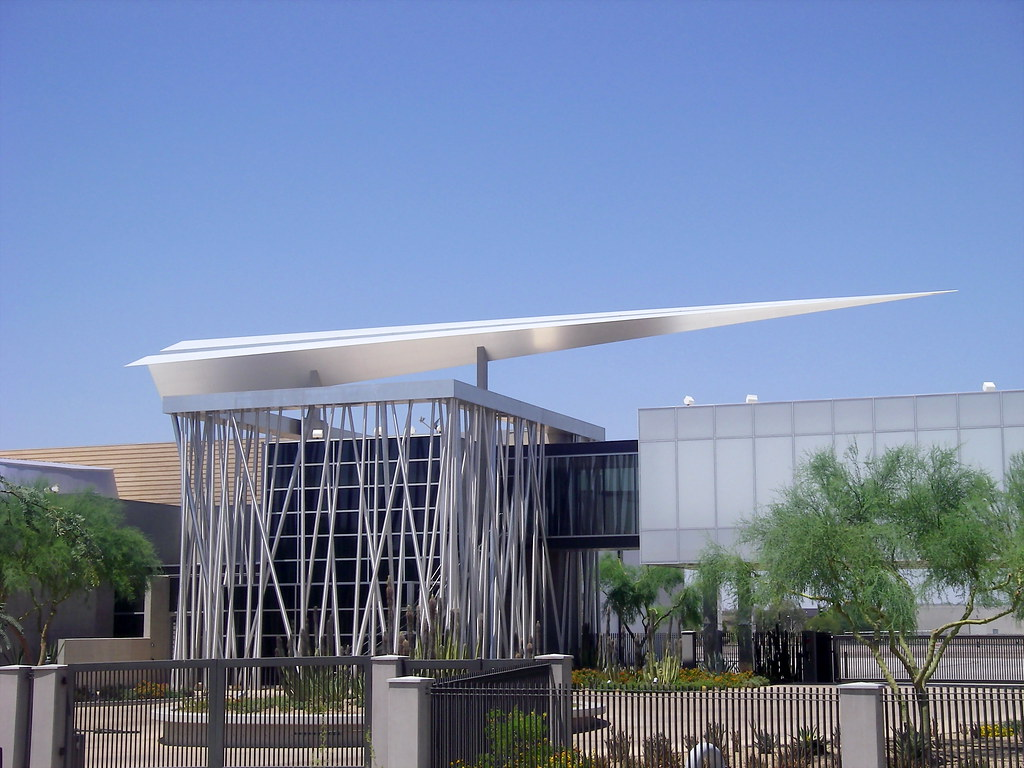 Scottsdale Airpark Paper Plane Sculpture | This is a ...
