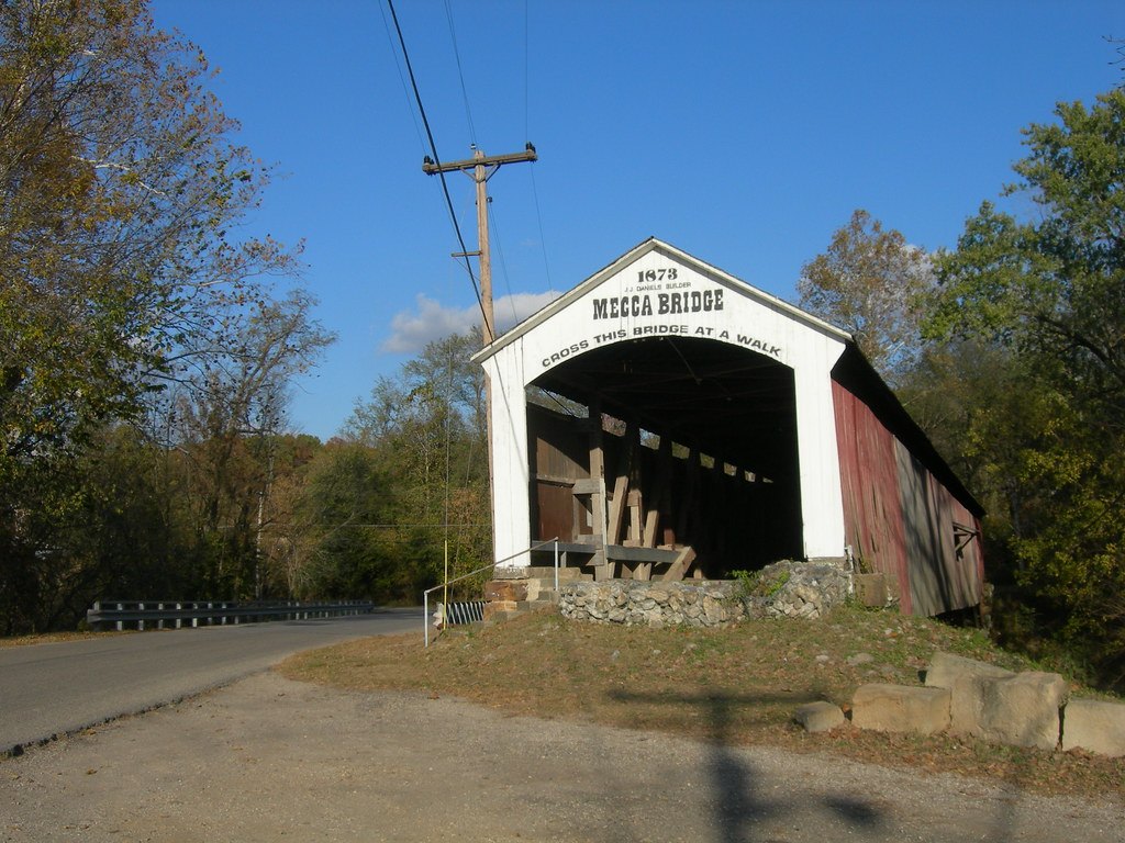 Mecca Covered Bridge | Mecca, Indiana Constructed in 1873 ...