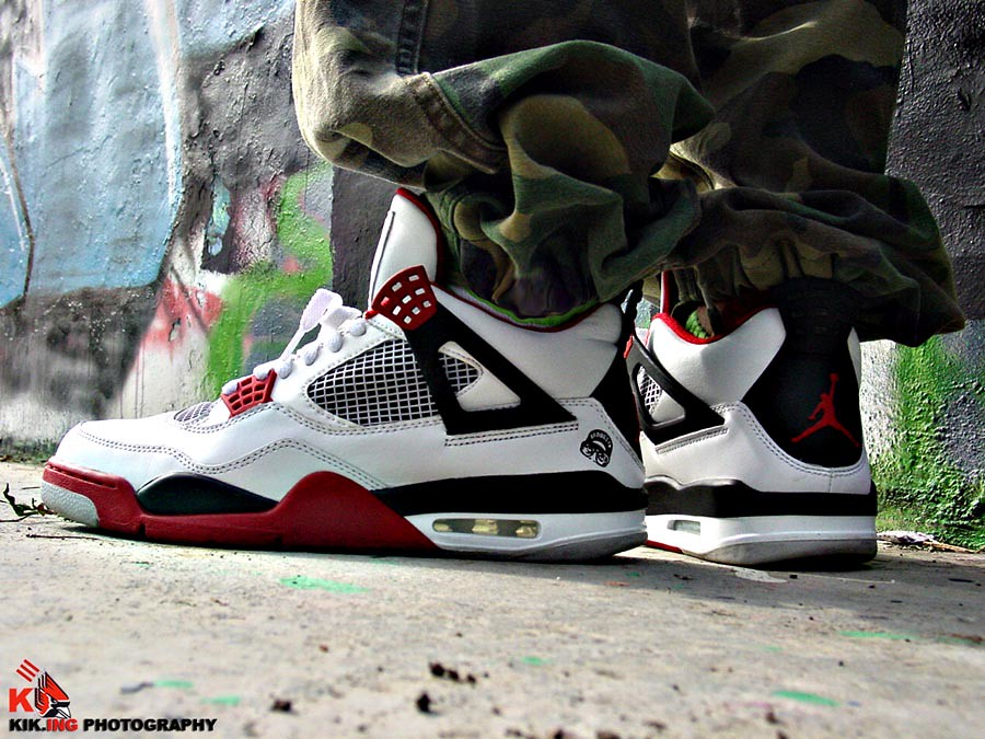 outlet store 9f957 53845 ... wholesale air jordan 4 iv retro mars blackmon white varsity red 2bfaf  2fcb6
