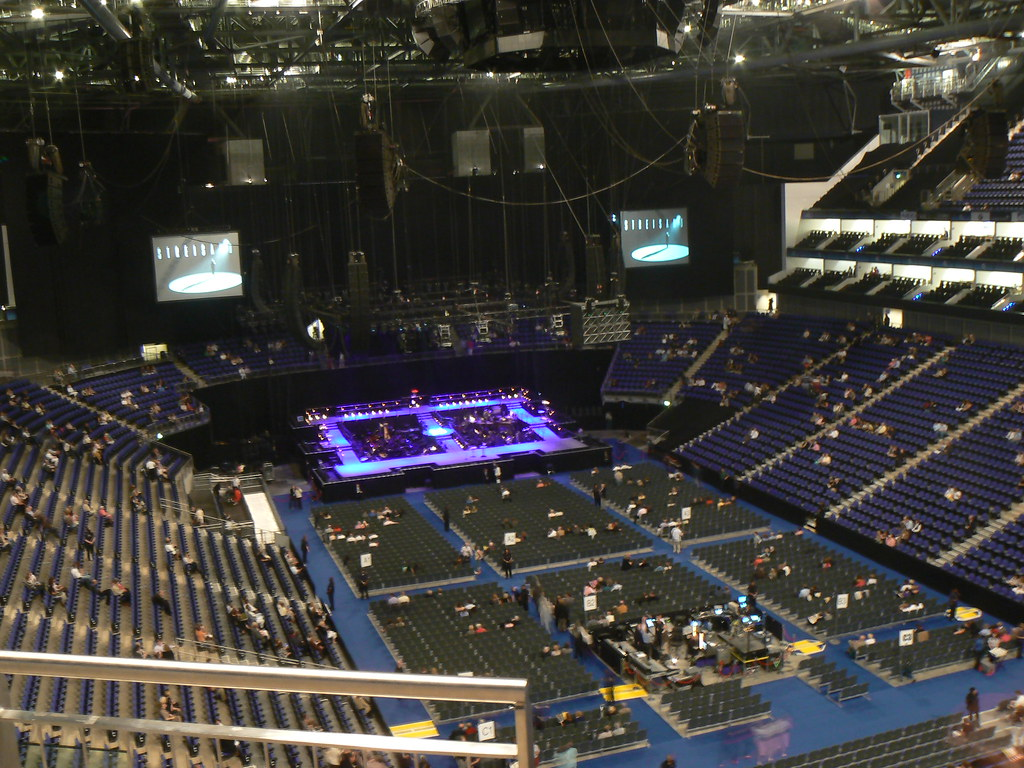 O2 London Floor Plan Stage O2 Arena Barbra Streisand Barbra Streisand Live