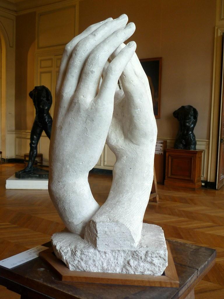 La Cathedrale Mus 233 E Rodin 1 The Cathedral La
