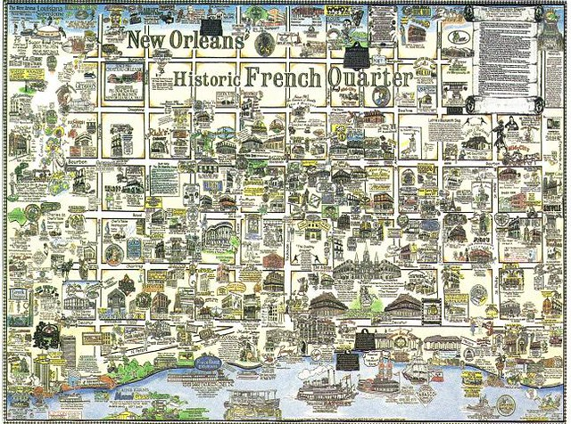 New Orleans Historic French Quarter Bought At The Store