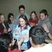 Students Playing Trust Games at the Student  Leadership Retreat (Malibu, CA) 2005