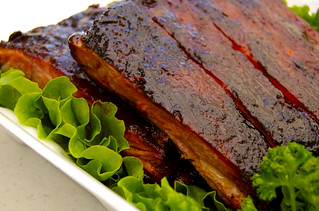 ribs close up | by BBQ Junkie