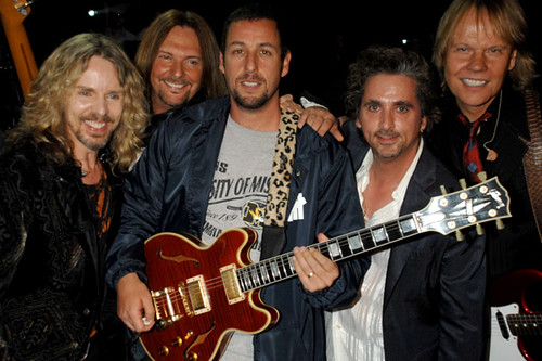 Adam Sandler (center) ...