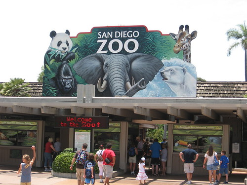 Entrance to the San Diego Zoo | by Jim Moore