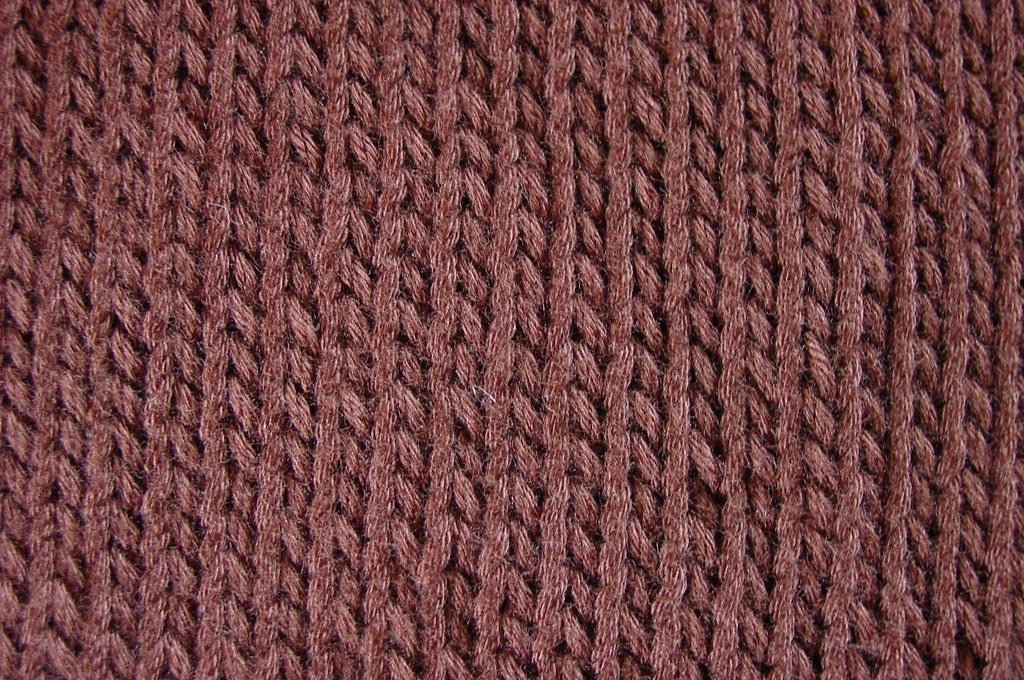 Stockinette stitch Right side of piece: knit all stitches ? Flickr