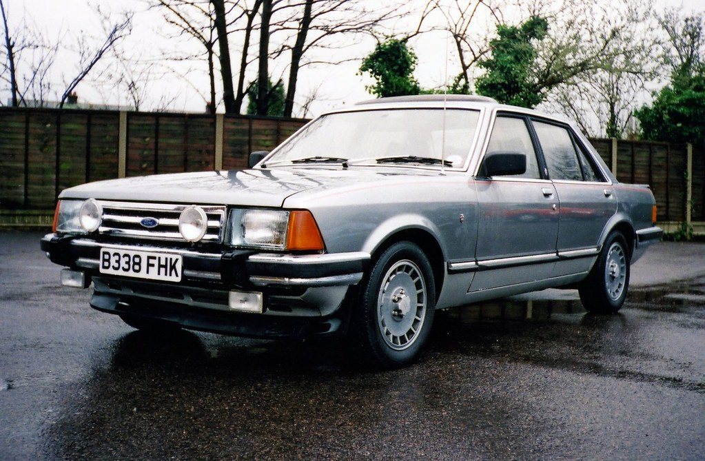 1984 ford granada ghia x sadly this fine example. Black Bedroom Furniture Sets. Home Design Ideas