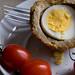 One scotch egg (No jar of Marmite)