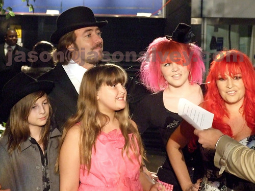 The Family Ross | Jonathan Ross and family at the European ...