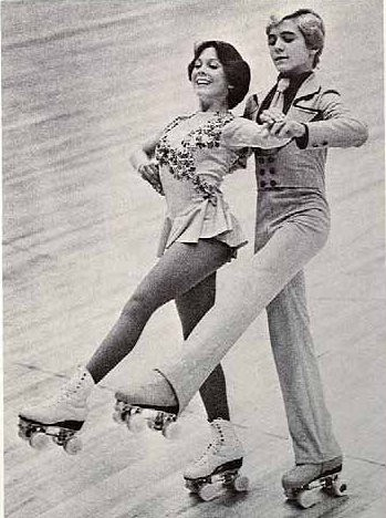 Roller skating rink 70s
