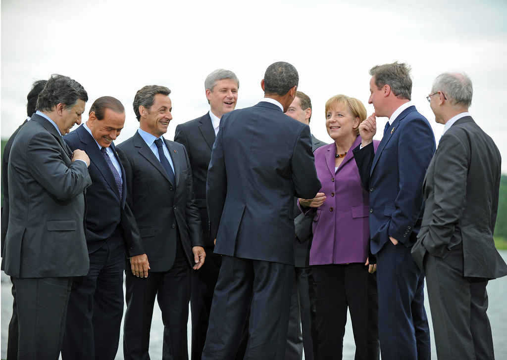 G8 Leaders Leaders Of The G8 Nations And The Eu Gather
