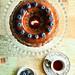 Blueberry Buttermilk Cake with Milk Chocolate Honey Ganache