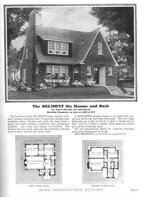 Sears Modern Home The Belmont English Cottage Sears