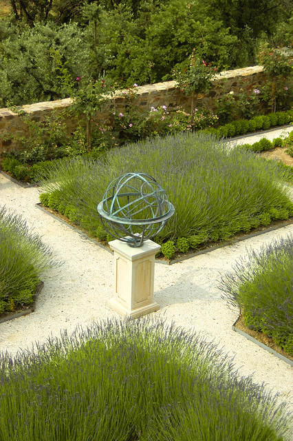 ... Armillary Sphere In A Garden | By David Harber