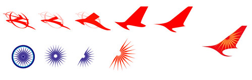 The Tail Tale Air India New Logo It Was An Interesting