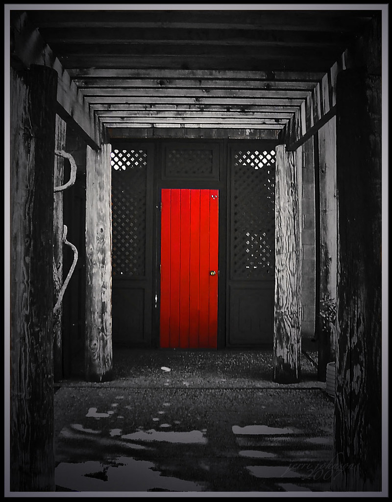 Red Door I Want To Paint It Black