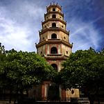 Vietnam - Hue - Pagoda Siete Pisos - I