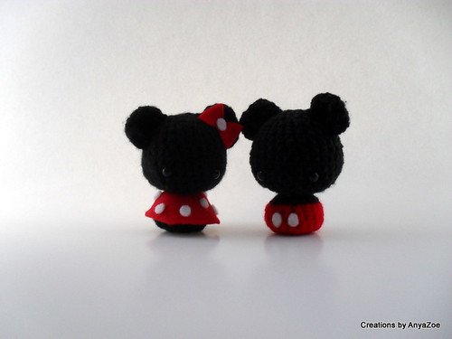 Mickey and Minnie Mouse amigurumi Flickr - Photo Sharing!