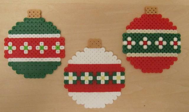 Perler Hama fuse bead Christmas : Flickr - Photo Sharing!