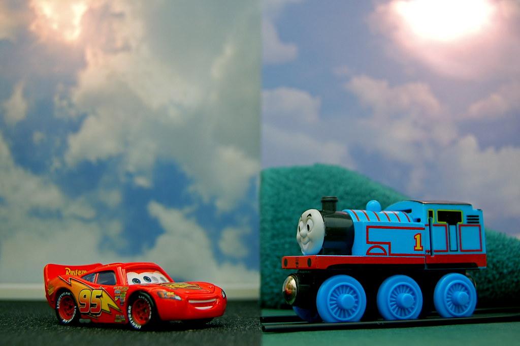 Lightning McQueen vs. Thomas the Tank Engine (311/365 ...